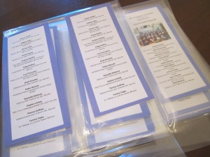 laminating bookmarks