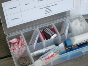 Back to School Teacher Emergency Kit Contents