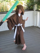 Jedi Robe and Lightsaber 3
