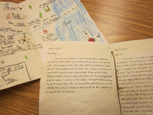 narnia map and journal sample