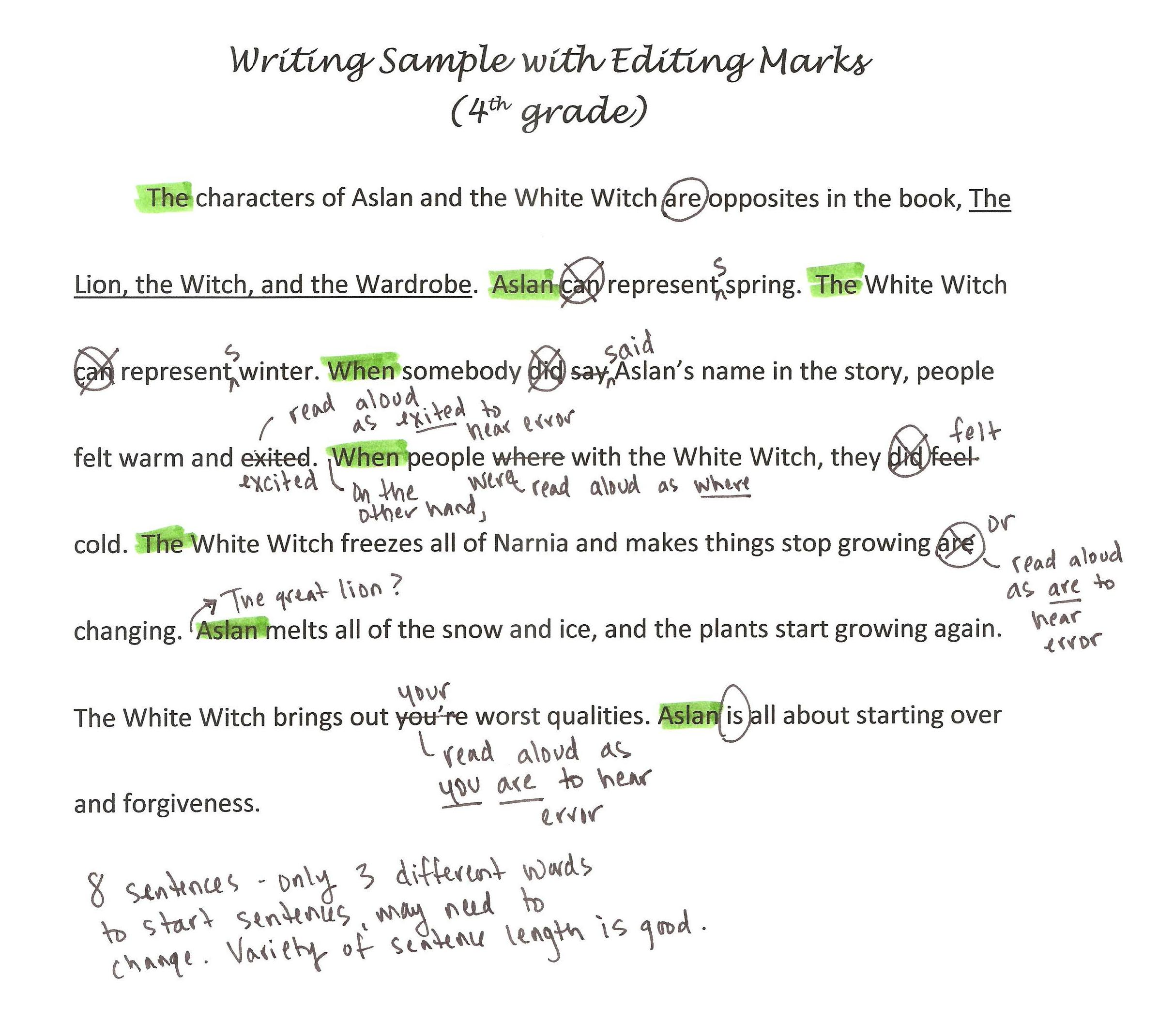 editing strategies theroommom task 1
