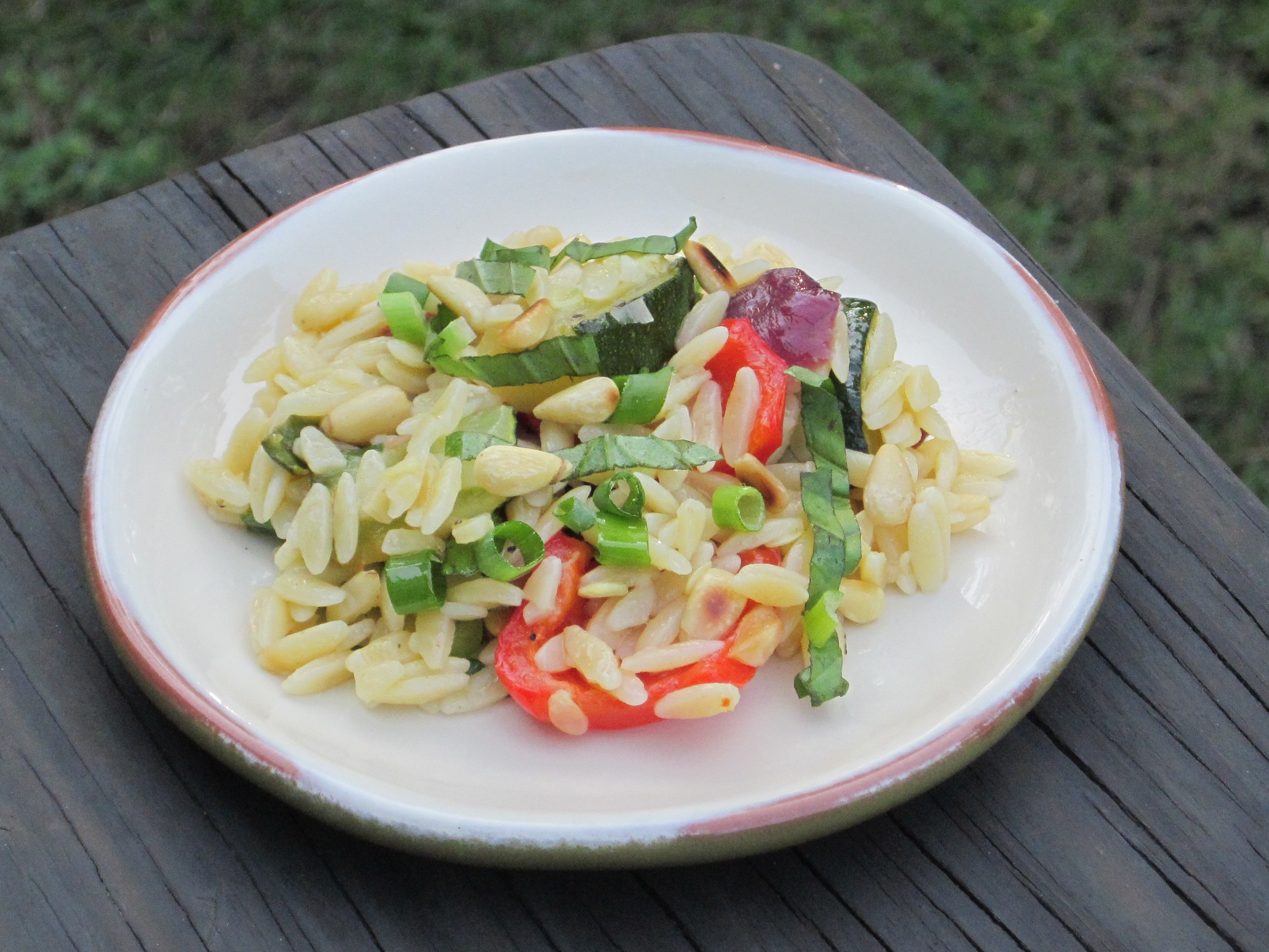 Orzo with Roasted Vegetables | TheRoomMom