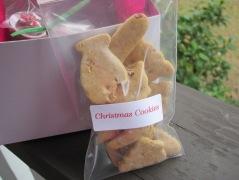 christmas cookies and cocoa kit