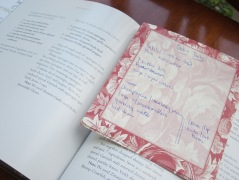 I find scraps of paper with old party notes in many of my favorite cookbooks.