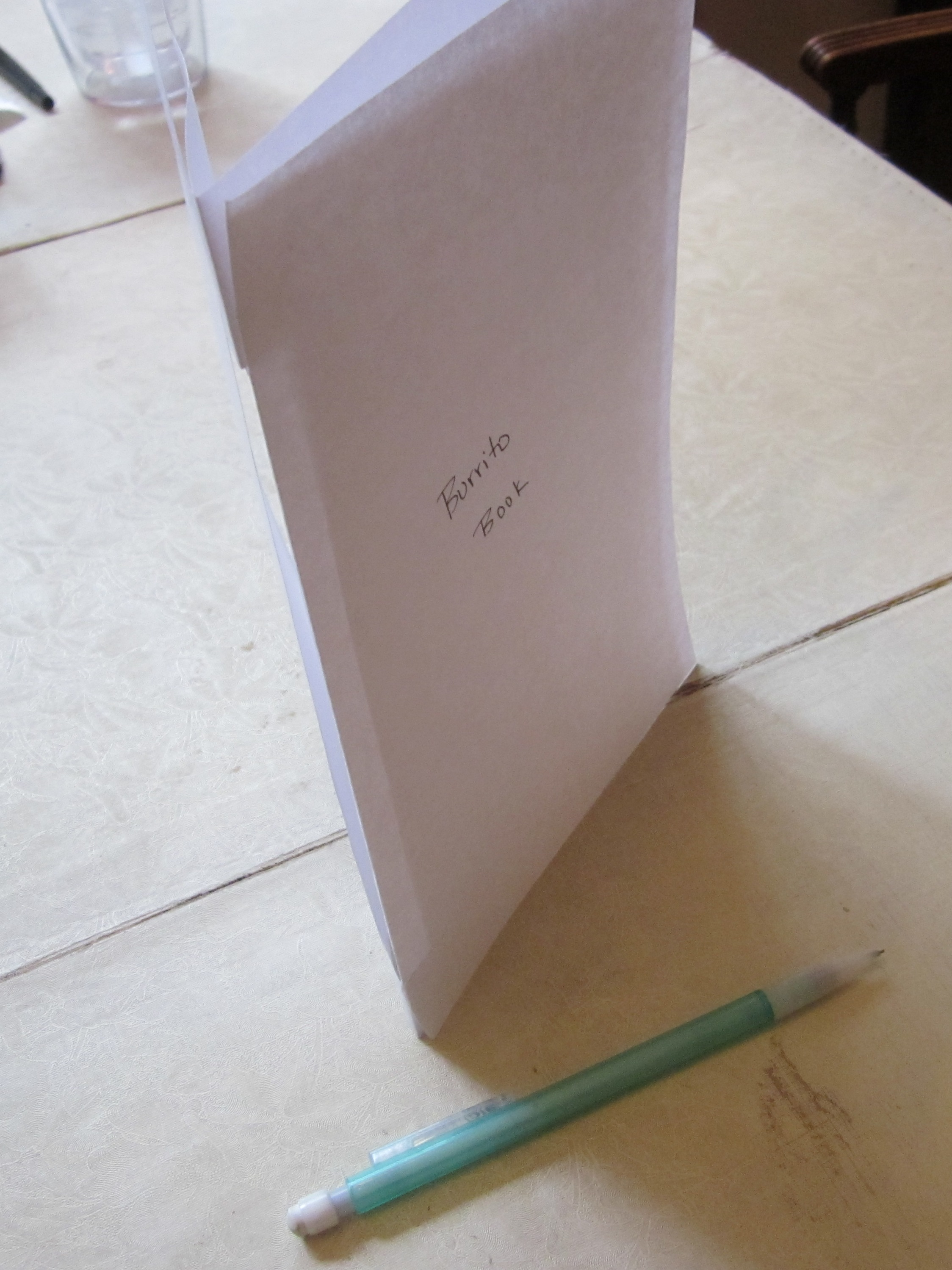 How To Make A Book Cover With Construction Paper ~ Foldable booklets theroommom