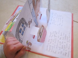 double pop up book