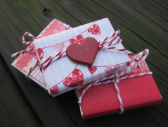matchbox valentines with candies