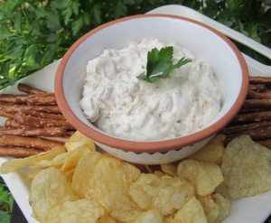 pan fried onion dip2
