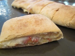 slice pizza bread