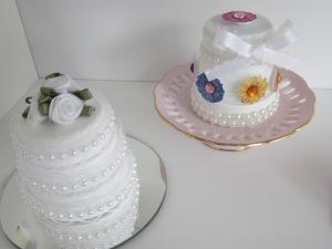 American Girl 2 Wedding Cakes