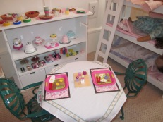 American Girl Set Up