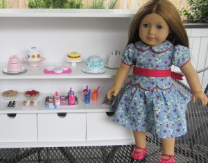 American Girl Sweet Shop w Doll