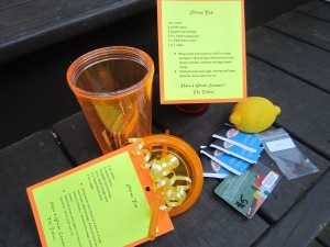 iced tea kit contents