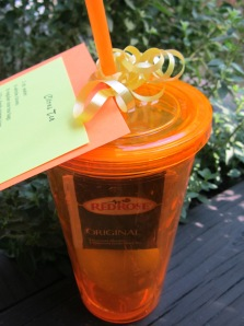 teacher gift iced tea kit