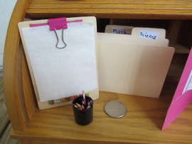 American Girl DIY clipboard