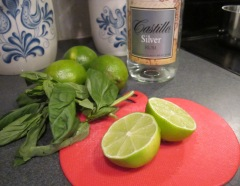 basil mojito ingredients