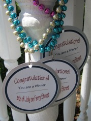 DIY party awards
