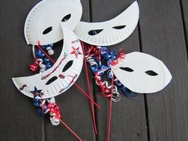 paper plate masks