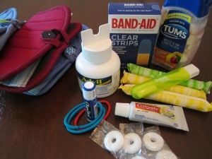 teacher emergency kit contents