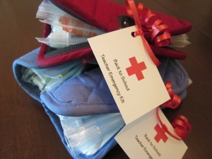 teacher emergency kit gift tags