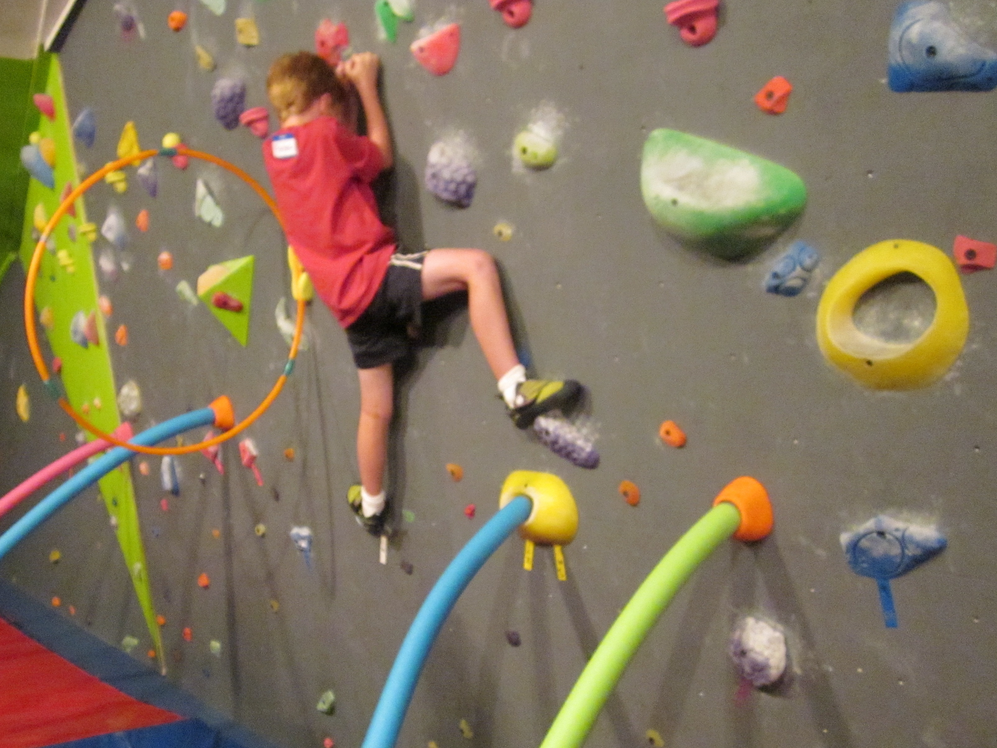 Rock Climbing | TheRoomMom