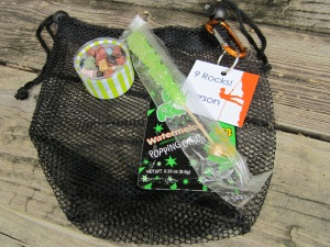 rock climbing party favor bags