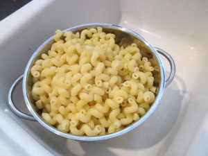 macaroni and cheese noodles