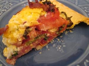 tomato pie slice