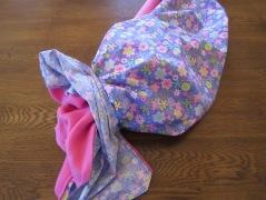 AG sleeping bag inside out