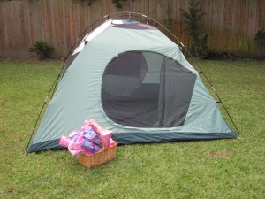 American Girl Party Tent