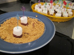 Marshmallow Smore Party Food