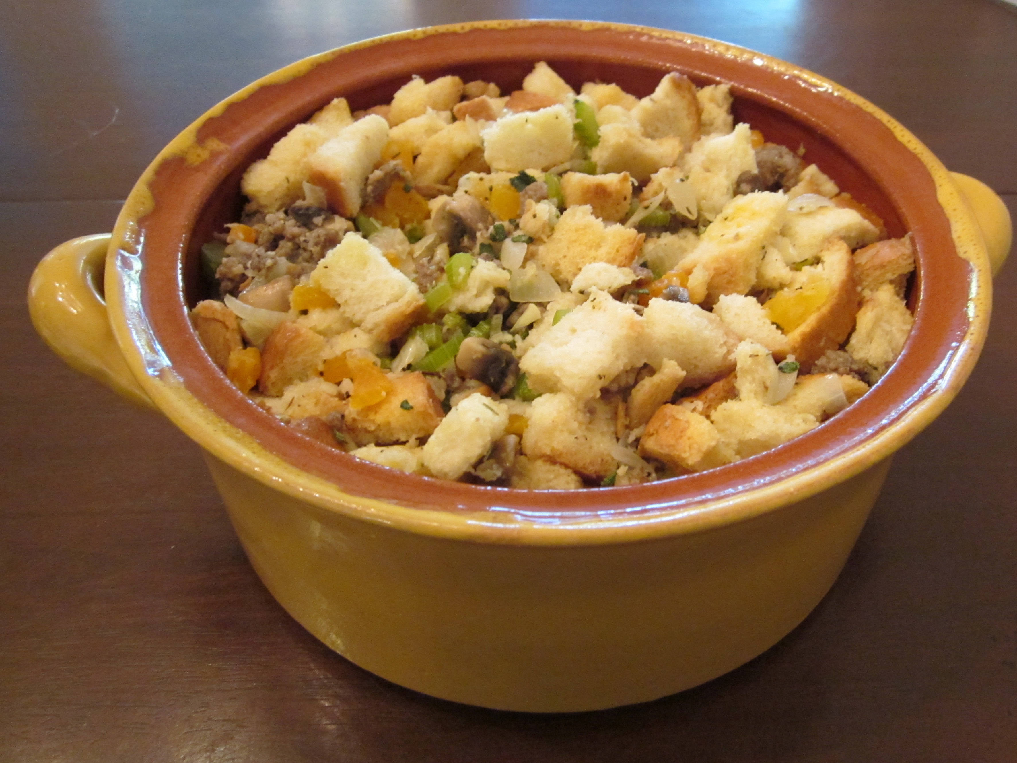 sausage stuffing | TheRoomMom