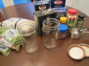mason jar soup ingredients