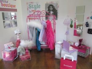 American Girl dress store