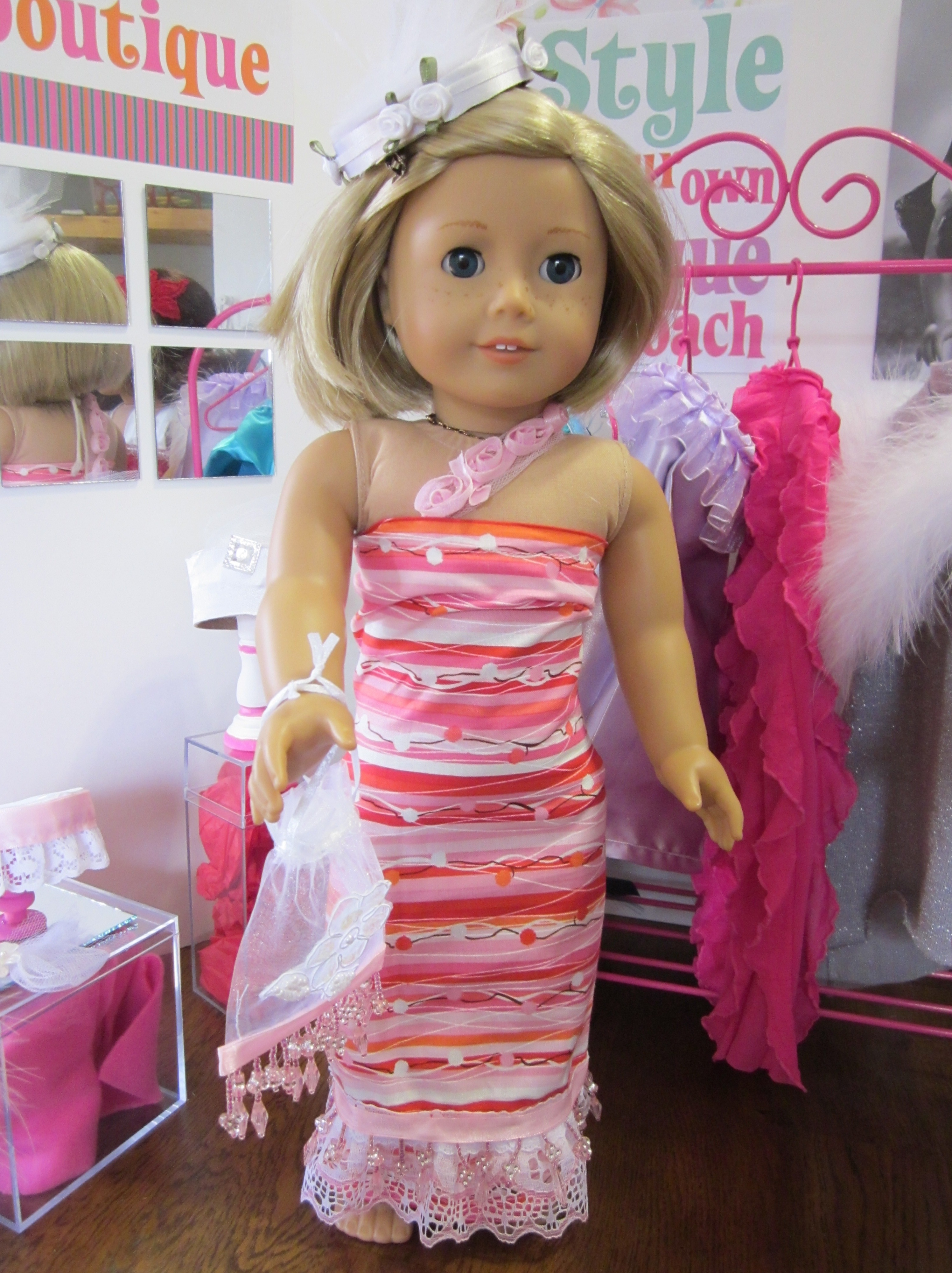 American Girl Dress Bo...