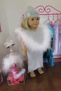 American Girl silver outfit