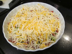 pizza dip unbaked