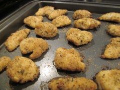 chicken nuggets cooked