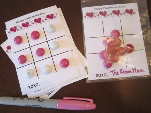 tic tac toe valentine assembly