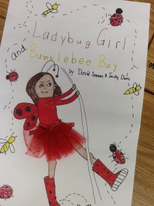 ladybug girl poster