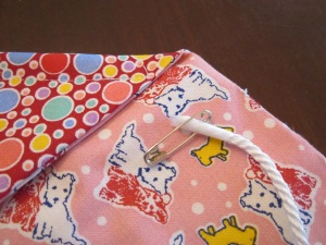 petal bag cord end