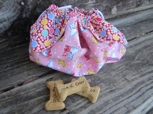 petal bag dog treats