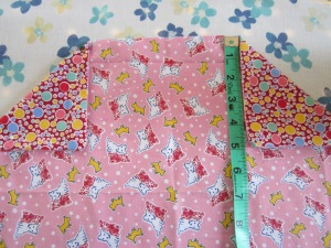 petal bag fold corners