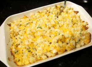 hashbrown casserole cooked