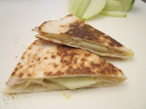 turkey quesadilla slices 3