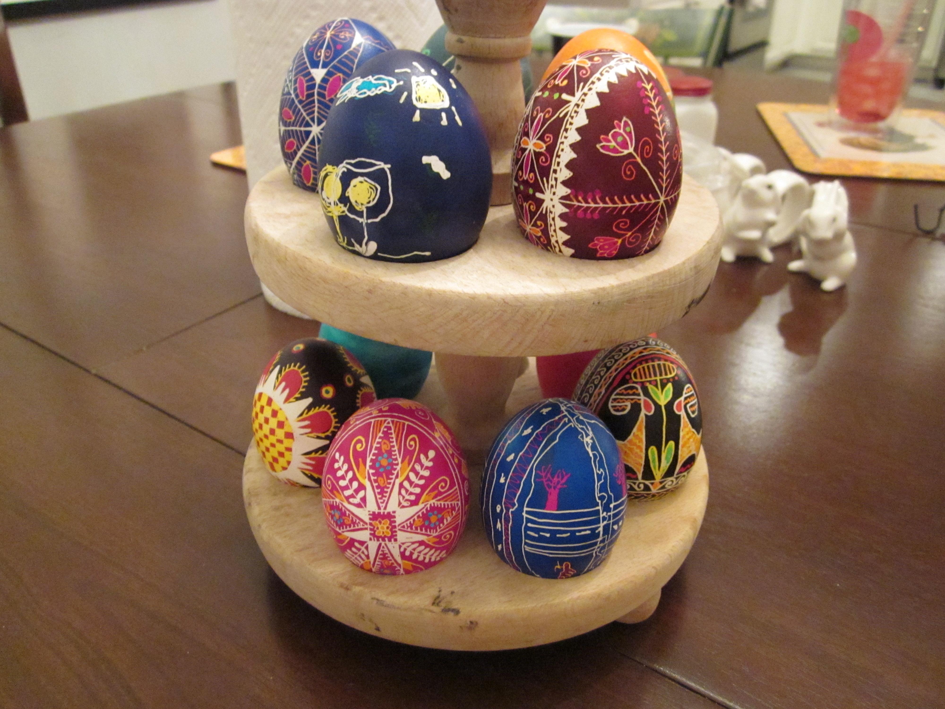 Ukrainian Easter Eggs Theroommom