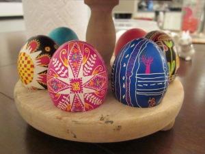 ukrainian egg pink