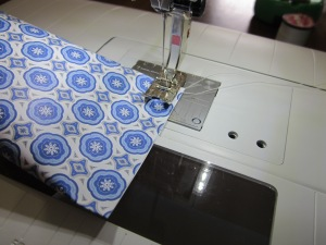 paper pockets sewing