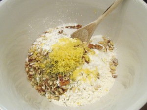 rosemary bread dry ingredients