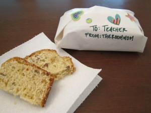 rosemary bread teacher gift